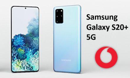 Samsung Galaxy S20+ für 169 € – Allnet – 15 GB – Vodafone Smart L – 36,99 € monatlich