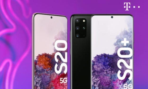 Samsung S20 für 95 € – Allnet – 6 GB LTE – Telekom Magenta Mobil S – eff. 34,19 € monatlich – nur für JUNGE LEUTE bis 27