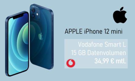 iPhone 12 mini – Allnet – 15 GB – Vodafone – 34,99 € mtl.