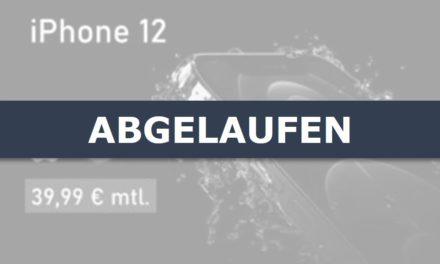 iPhone 12 – Allnet – 30 GB – Vodafone – 39,99 € mtl.